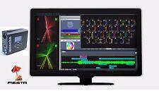 Showtacle Fiesta software + Moncha.NET Box device Laser Software Controller