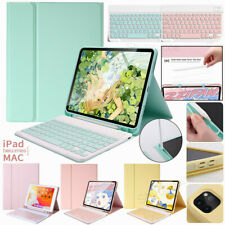 "Smart Case Cover + Bluetooth Keyboard Pencil Holder For iPad Pro 11"" 2020 10.2"""