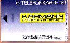 Scheda telefonica GERMANIA K - 205 a fittizia nuovo e intatto (interno: 930)