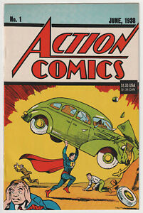 M1477: Action Comics #1, Vol 1, NM Condition, 1992 Reprint