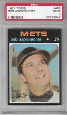 1971 Topps Baseball Bob Aspromonte #469 PSA 9