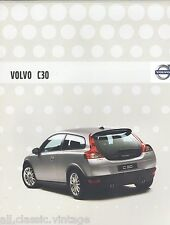 VOLVO - C30 brochure/folder Dutch 2007