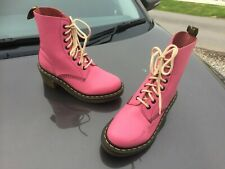 Dr Martens clemency pink leather boots UK 4 EU 37