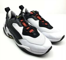 Puma Thunder Spectra Running Cross Training gym Shoes White Red Men's 9.5 - 11.5