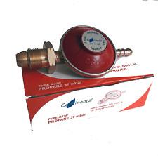 Regulador De Gas Propano Gas 37 mbar Tornillo para botellas de 4.5KG