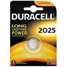 Pila de boton CR DL ECR 2025 Duracell calidad 3V