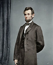 President Abraham Lincoln portrait 1862