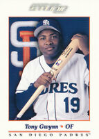 Tony Gwynn 2001 Donruss Studio #113 San Diego Padres baseball card