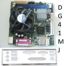 Intel DG41MJ LGA775 Mini-ITX Intel Core 2Duo E8400 3.00GHz pletina de E/S