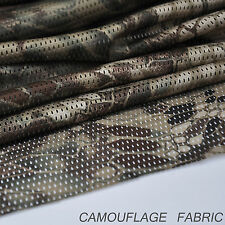 "2-YARDS Highlander Camouflage Net Cover Army Military 60""W Mesh Fabric Cloth"