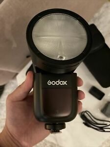 Godox V1-N Flash for Nikon With AK-R1 Filter Accessories