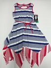 New with Tag Paper Doll Girls Size 7 - 10 Sleeveless Dress with Belt