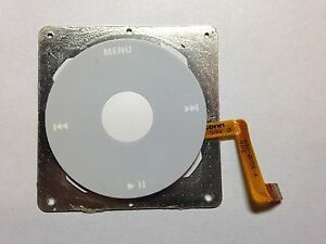 iPod Classic Photo 4th Gen Clickwheel Buttons A1059 A1099 Click Wheel 632-0258-A