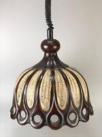 60er 70er Jahre Lampe Leuchte Keramik Deckenlampe Deckenleuchte Space Age Design