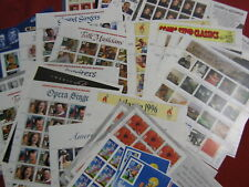 US stamp lot MNH sheets and booklets $157.44 face