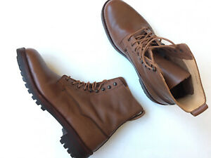 $695 CROCKETT /& JONES Arran Bronze Oiled Sides Leather New Boots Size 9 9.5 /& 10
