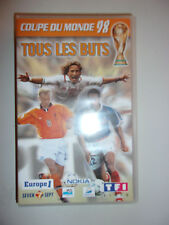 K7 VIDEO VHS COUPE DU MONDE 98 - FRANCE 1998 / TOUS LES BUTS