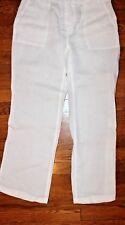 Banana Republic Pants White linen Size 4 P