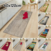 Flannel Plastic Non-slip Home Kitchen Door Mat Waterproof Anti-Oil Floor Rug