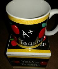 Coffee Mug Heart My A+ Teacher Mug Gift
