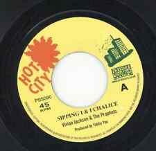 """"""" SIPPING I & I CHALICE."""" vivian jackson & the prophets. HOT CITY 7in."""