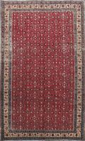 Floral Semi Antique Anatolian Turkish Oriental Area Rug Hand-knotted Wool 7x9 ft