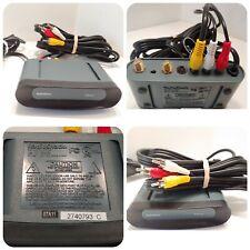 Radio Shack 15-2526 RF Modulator Video TV A/V Signal Converter + 8' RCA Cord