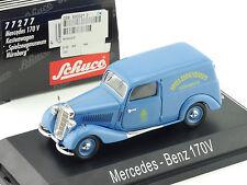 Schuco 77277 mercedes 170 V w136 juguetes museo nuremberg OVP sg 1601-30-05