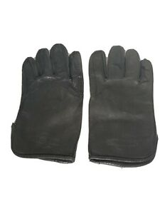 Harley Davidson Gloves Mens Large Vintage Leather Nice!