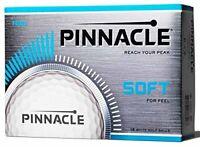 TITLEIST Mens Pinnacle Soft Balls, White, One size