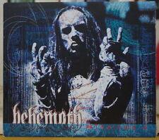 BEHEMOTH 3 THELEMA.6  ENHANCED MISPRINT DIGIPAK DEATH METAL CD PEACEVILLE 2000