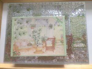 'Blissful July' 400 piece foil jigsaw. Complete