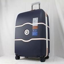 "DELSEY CHATELET AIR ROLAND GARROS 25"" HARDSIDE SPINNER SUITCASE NAVY"