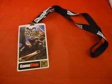 Monster Hunter Sony Playstation 2 PS2 Gamestop Promotional Lanyard Chain Promo