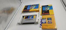 Jeu Super Nintendo SNES Super Mario World complet PAL UKV Yellow Version
