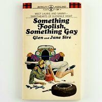 Something Foolish, Something Gay Glen and Jane Sire Vintage Hollywood Paperback