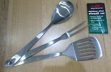 TEXSPORT Camp Oven Utensils Set of 3 Dutch Oven Great for Ozpig and Campfire