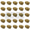 (25 PACK) 3/4 NPSM TO 3/4 MALE NPTF BRASS FITTING CONNECTOR FUEL/AIR/WOG