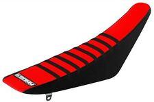 Enjoy Honda Gripper Seat Cover CR125 250 97-99 Black Sides Red Top Black Ribs MX