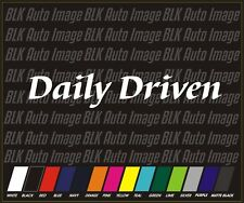 DAILY DRIVEN v1 Drift Hellaflush Illmotion JDM Racing Vinyl Decal Sticker