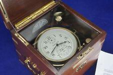 Hamilton Model 21 Marine Chronometer, just overhauled.