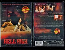 Hell High - Slasher, Nudity - Brand New Rare, Out Of Print DVD