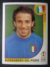 Panini Sticker 471 Alessandro Del Piero Italia Italien Italy WM 2002 Korea Japan