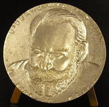 Coin de frappe pour médaille au journaliste Anthony R. Michaelis curiosité Medal