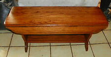 Solid Oak Drop Leaf Coffee Table  (CT149)