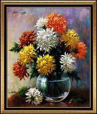 Arthur Sarnoff Original Oil Painting On Canvas Illustration Still Life Artwork
