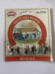 Model Power Steam Era People Figures