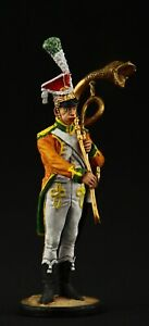 Tin soldier, Collectible, Musician with a trombone, 54 mm, Napoleonic Wars