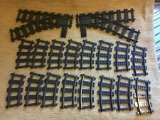Lego Train Track bundle points X 2 curves X 16 Preowned