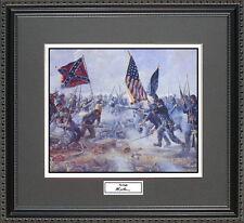 Mort Kunstler THE ANGLE Framed Print Civil War Wall Art Gift